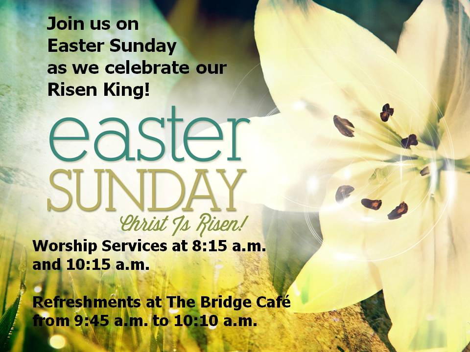 Easter at The Bridge - 8:15 a.m. AND 10:15 a.m. @ TBBF Worship Center | Los Angeles | California | United States